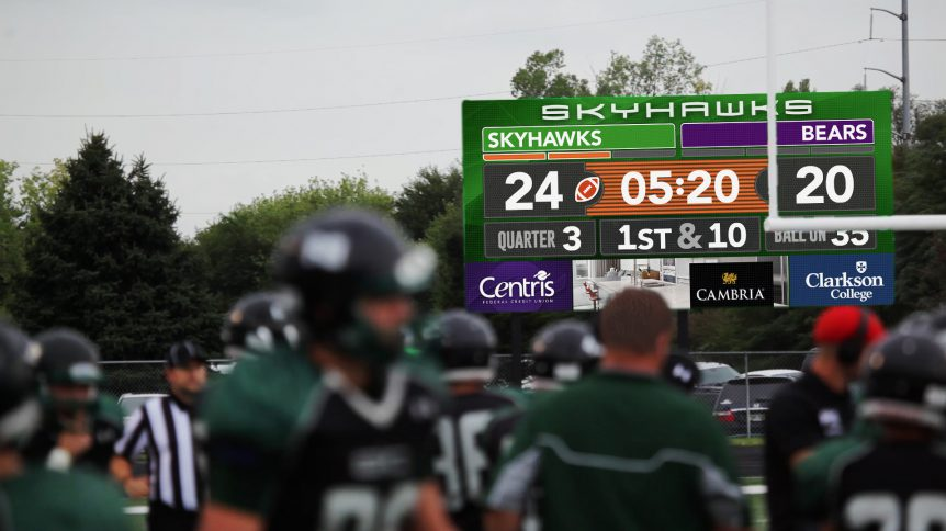 Skutt Catholic High School Scoreboard
