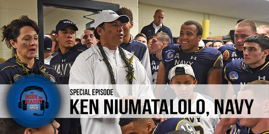 ken niumatalolo - podcast article