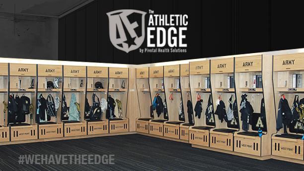 Athletic Edge Army Locker Room