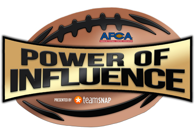 AFCA Power Of Influence Award, Presented By TeamSnap