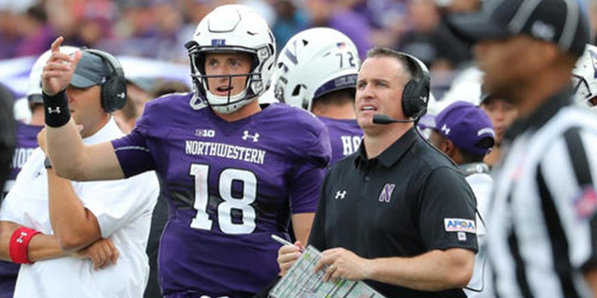 AFCA Patch WP, Northwestern, Pat Fitzgerald