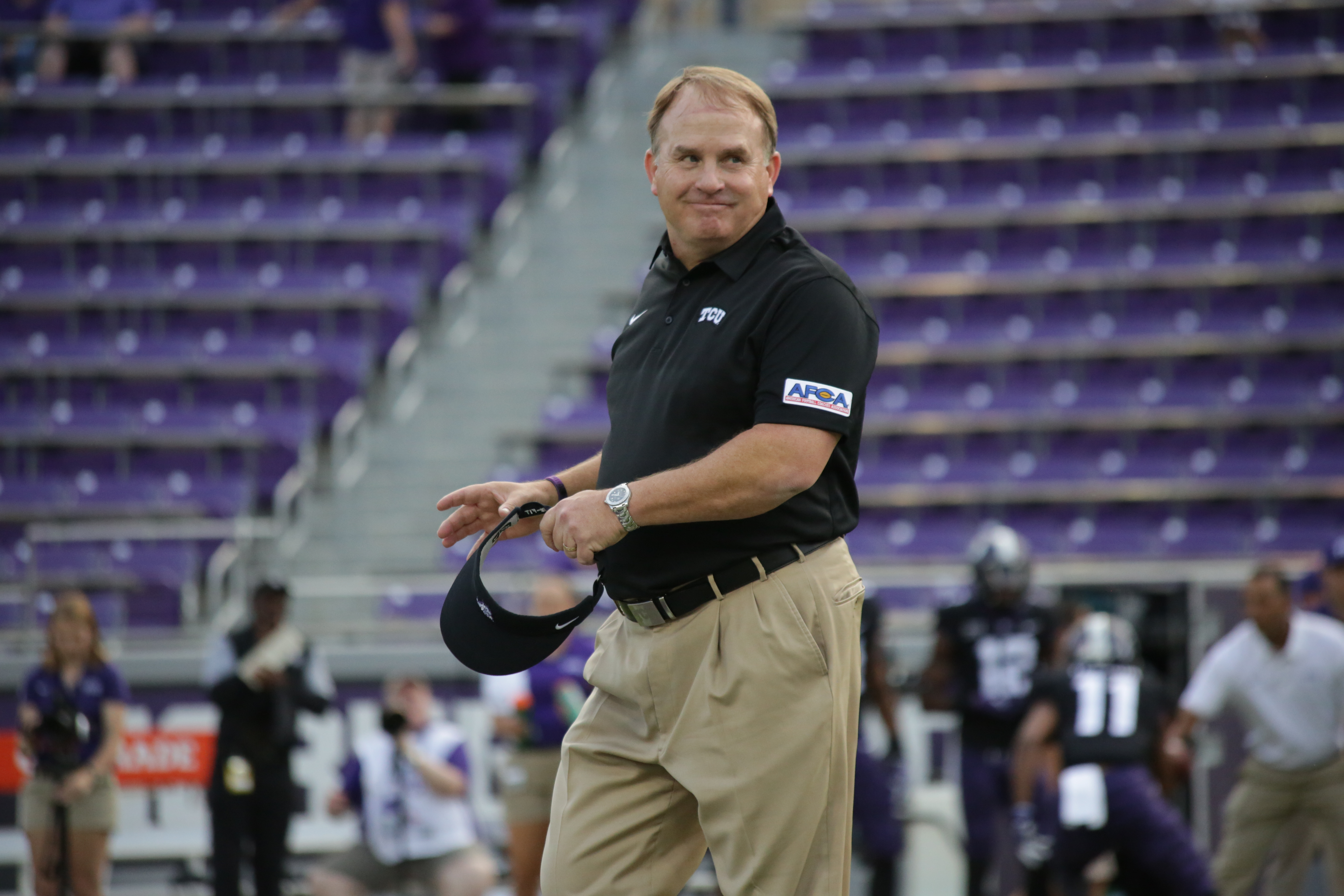 TCU Gary Patterson AFCA Patch