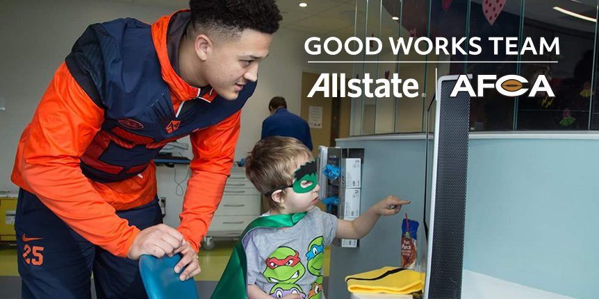2018 Allstate AFCA Good Works Team® - Art
