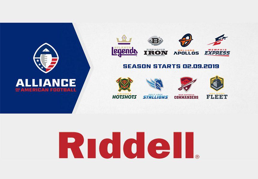 Riddell AAF Alliance Partnership