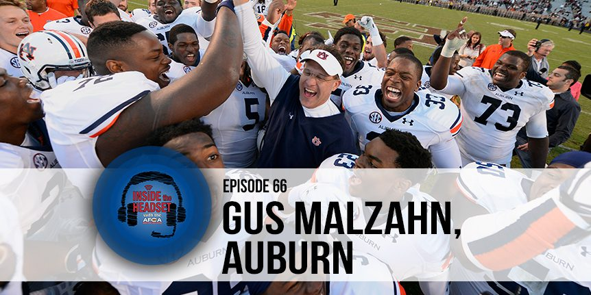 066 Inside The Headset - Gus Malzahn - WP