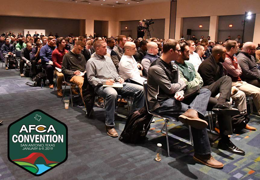 AFCA Convention Schedule: Tuesday, January 8, 2019