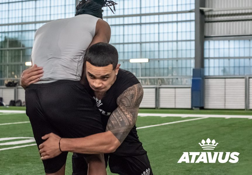Atavus Football Shoulder Tackling System