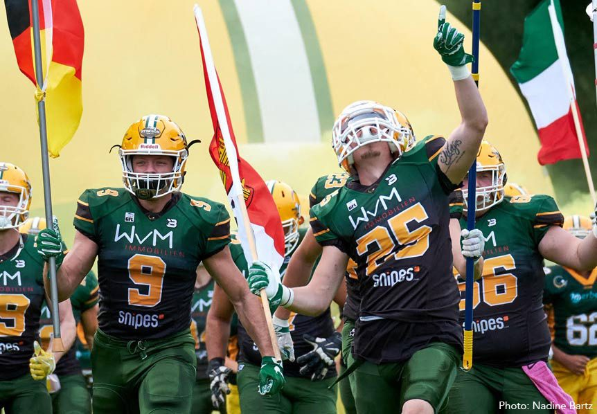American Football In Germany - Cologne Crocodiles