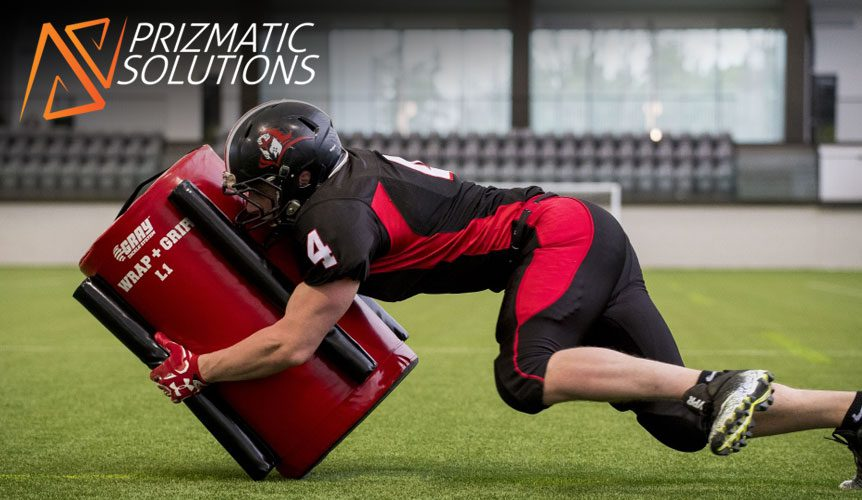 Gray Senior Tackle Kit From Prizmatic Solutions