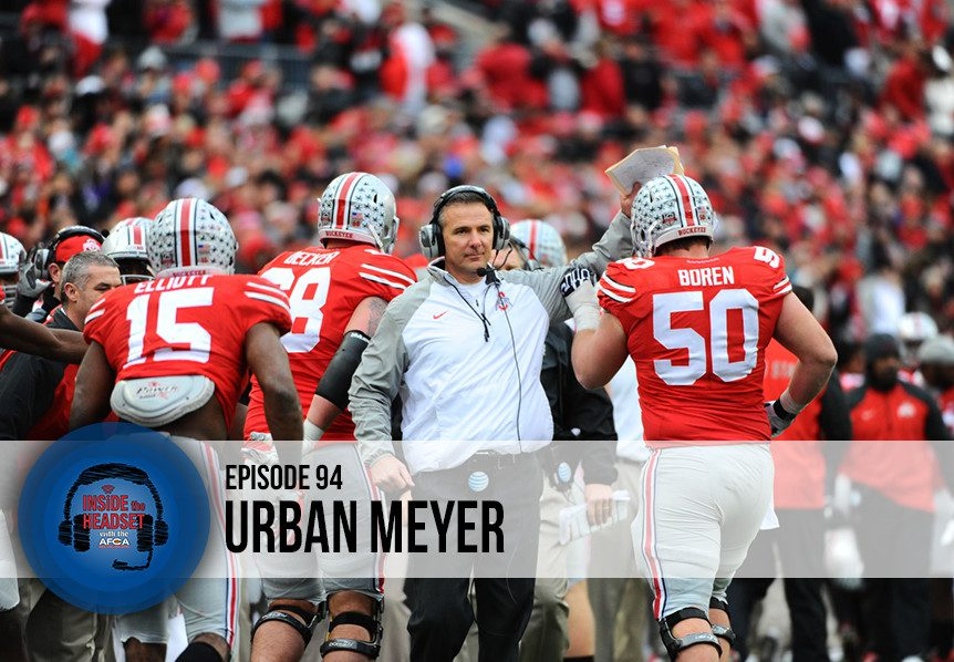 Inside The Headset - Podcast - Urban Meyer - WP