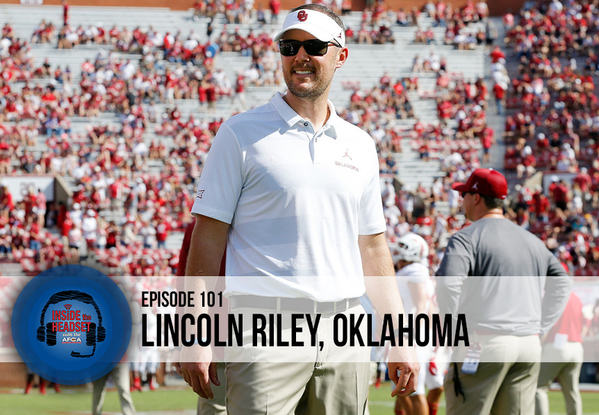 Inside The Headset - Podcast - Lincoln Riley - WP
