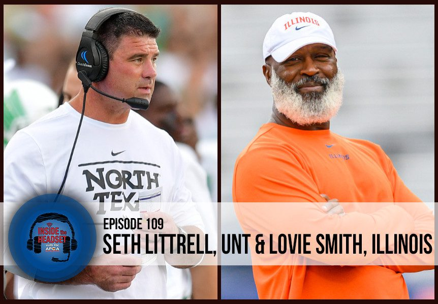 Inside The Headset - Podcast - Seth Littrell - Lovie Smith - WP
