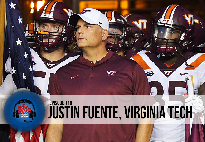 Inside The Headset - Podcast - Justin Fuente - Virginia Tech - WP