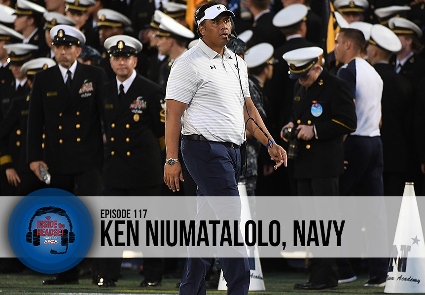 Inside The Headset - Podcast - Ken Niumatalolo WP