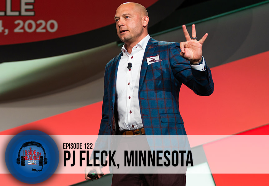 PJ Fleck - Inside The Headset - 2020 AFCA Convention - Podcast - WP