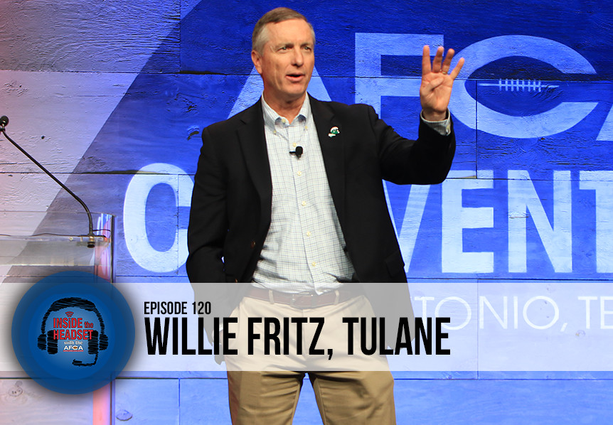 Inside The Headset - Podcast - Willie Fritz - Tulane - WP