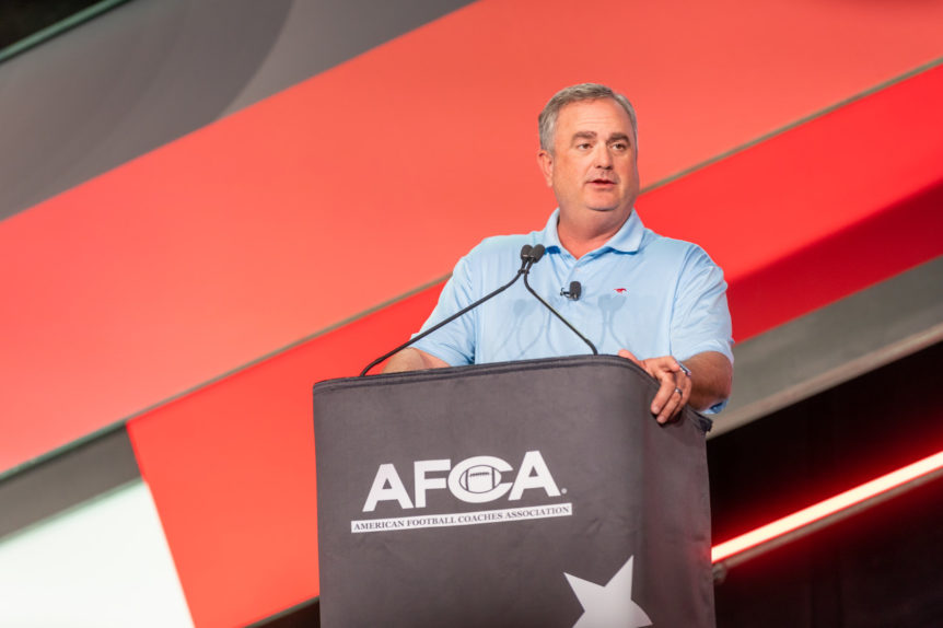 Sonny Dykes - AFCA Convention