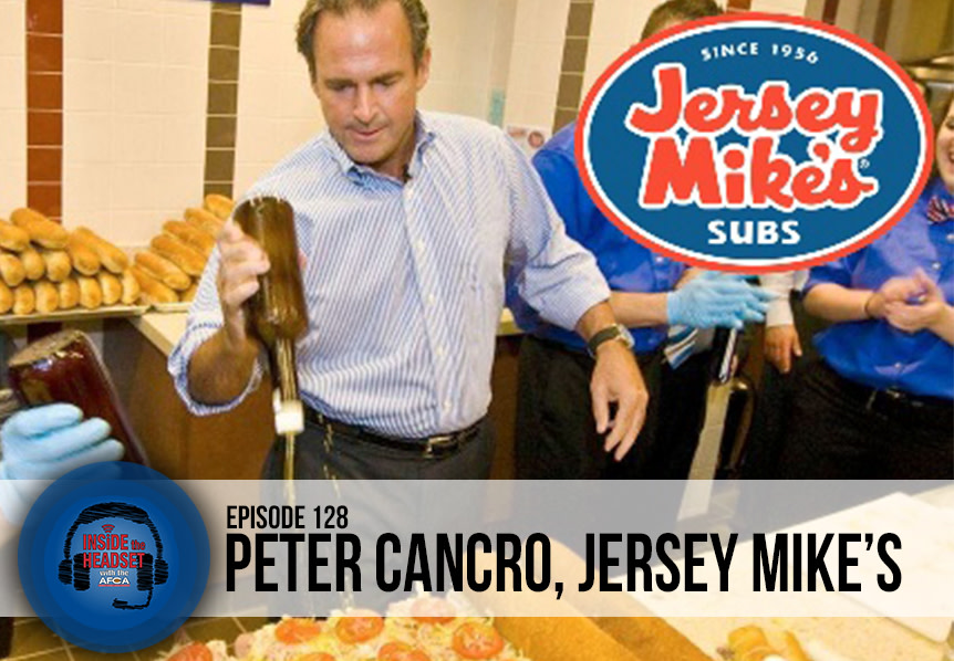 Inside The Headset - Podcast - Peter Cancro - Jersey Mike's - WP