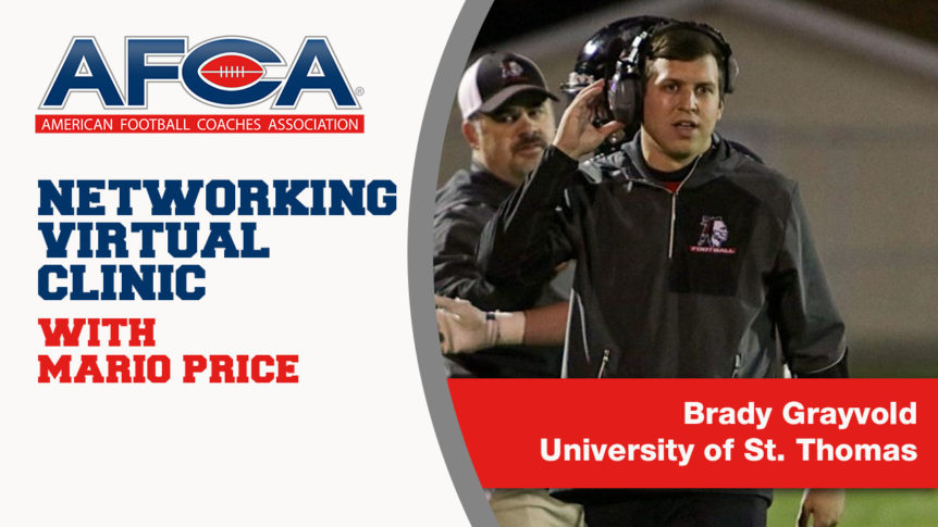 Brady Grayvold Highlights the Importance of Networking [AFCA Virtual Clinic]