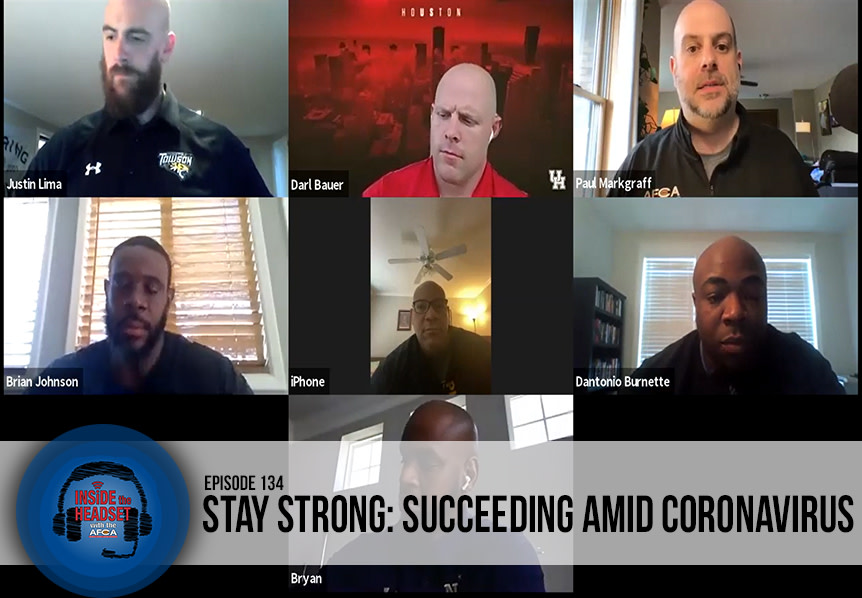 Inside The Headset: Coronavirus Strength Coaches Panel [PODCAST] WP