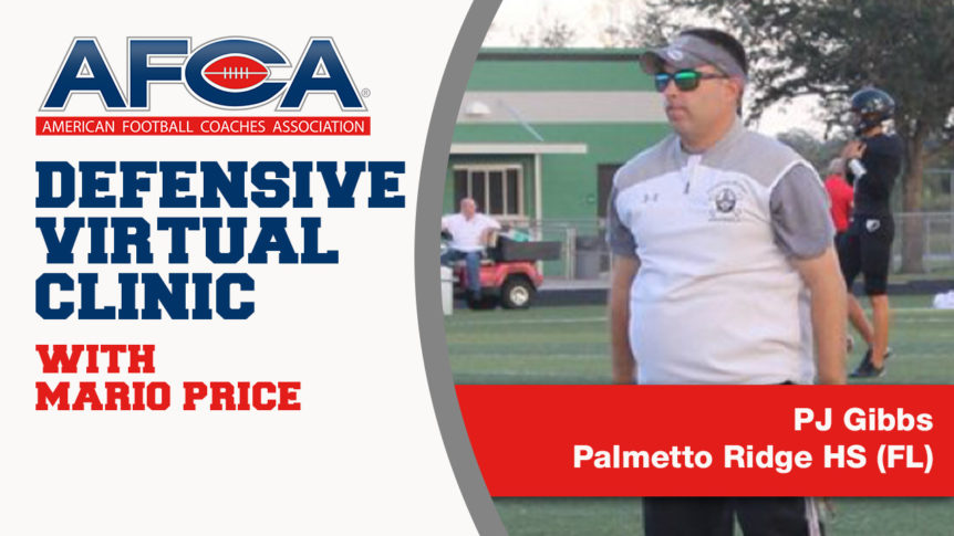 PJ Gibbs Brings The Pressure [AFCA Virtual Clinic Series]