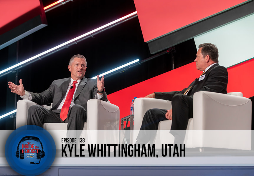 Inside The Headset - Podcast - Kyle Whittingham Convention - WP