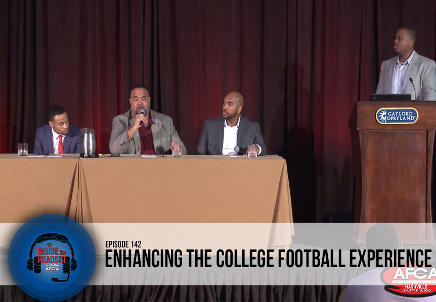Inside The Headset: Enhancing the Experience of College Football [PODCAST] WP