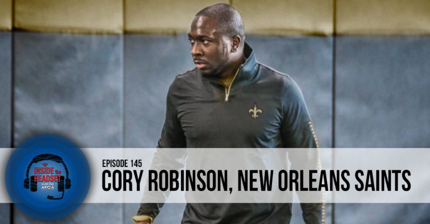 Inside The Headset: Cory Robinson [PODCAST] FB-HDA